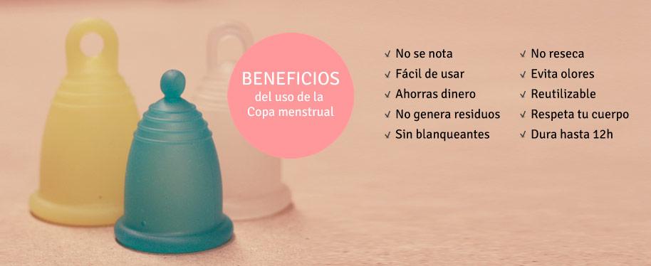 Beneficios de La copa menstrual