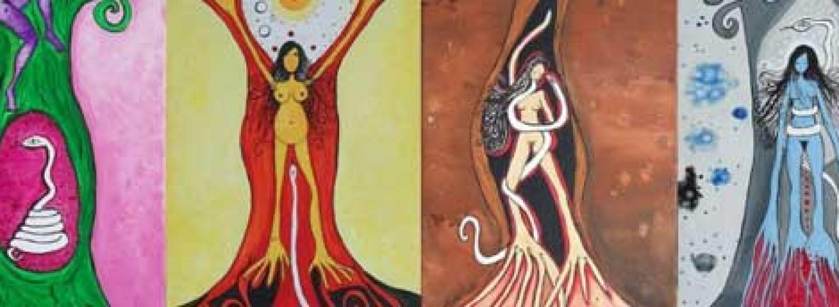 Conciencia en cuerpo de mujer