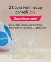 oferta copa menstrual femmecup