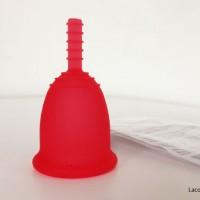 Copa menstrual Fleurcup rojo