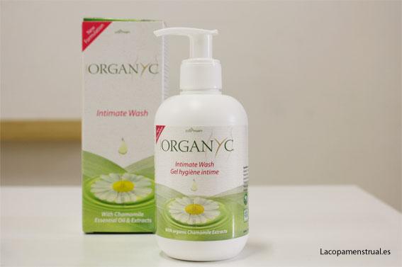 Jabón íntimo natural Organyc
