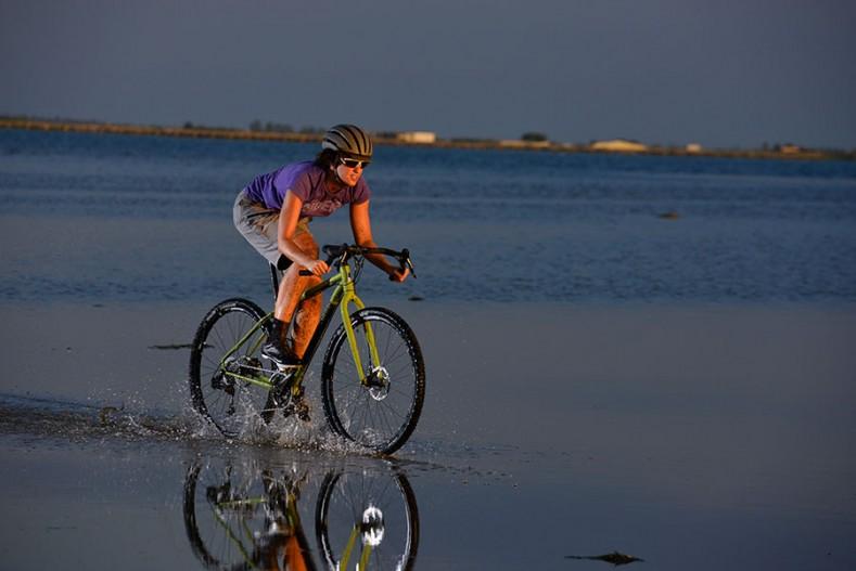 ciclismo y copa menstrual