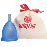 ruby cup color azul