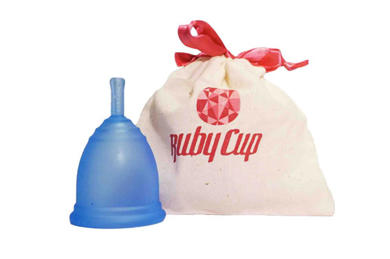 ruby cup color azul