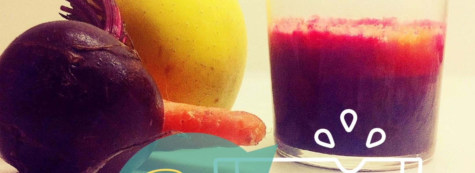 Receta mágica: Batido de Manzana, zanahoria y remolacha