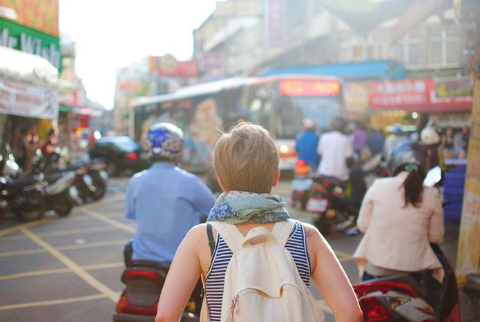 Viajar durante el periodo menstrual