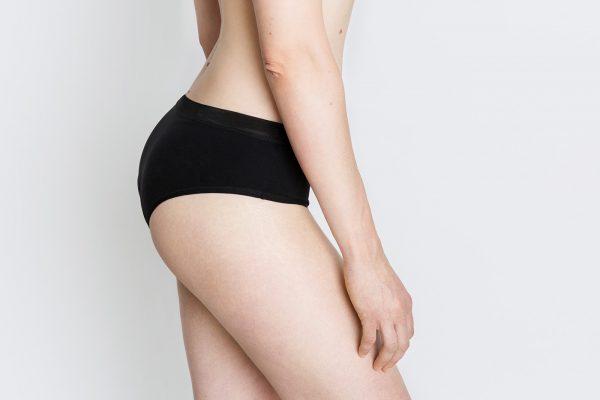 Braguita absorbente Cocoro modelo Vira negro